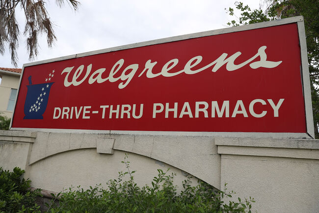 Walgreens Getty Images