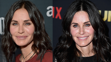Music News - Courtney Cox Reveals Why She Decided To Stop Using Fillers In Her Face