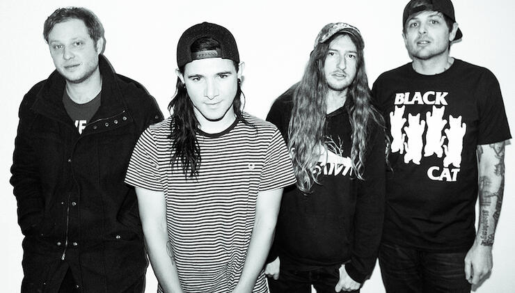 From First To Last Announce Show With Original Singer Skrillex | iHeartRadio