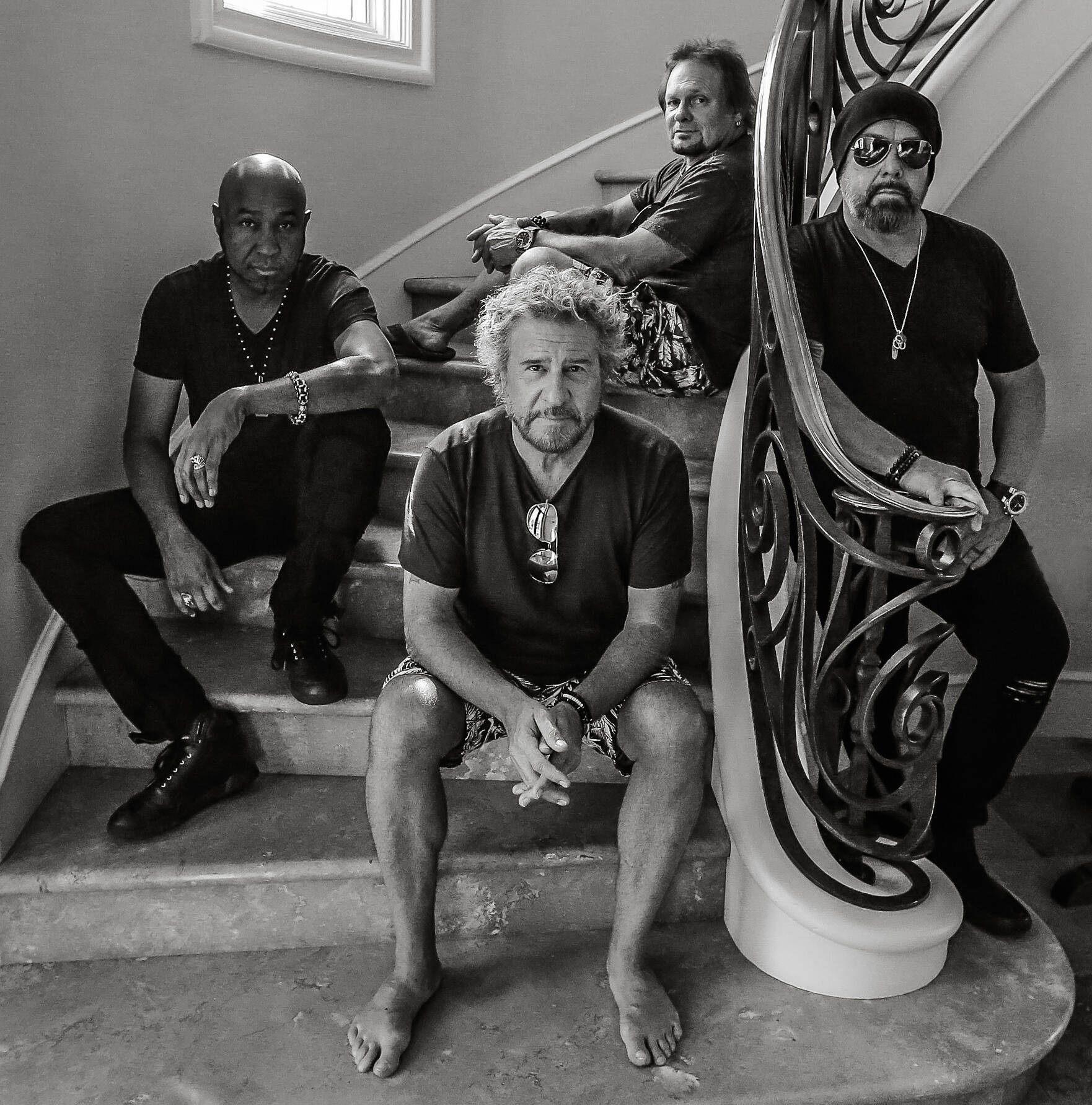 """Sammy Hagar & The Circle Reveal Music Video For """"Trust Fund Baby"""""""