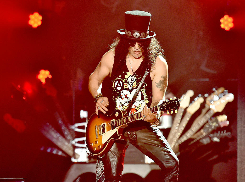Slash Confirms: There's Already Stuff Recorded for a New G&R Album