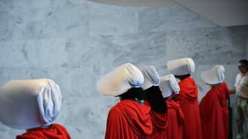 WMZQ Trending - Hundreds Of Handmaids Take Over National Mall As Hulu Films For 3rd Season