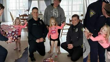 Ditch - What's good? Police replace kids stolen toys