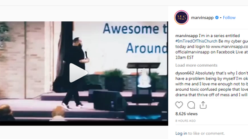 Willie Moore Jr. - Watch Marvin Sapp empowering Sermon