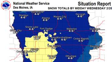Local News - Tuesday to Wednesday snow coming to Ames IOWA SNOW MAPS