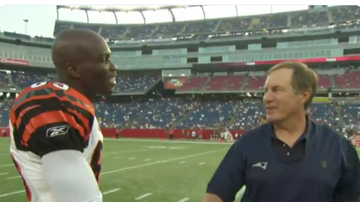 Lance McAlister - Watch: Classic exchange between Bengals WR Chad Johnson and Bill Belichick