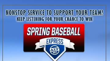 "The Woody Show - ALT 98.7 Spring Baseball Express"" Trip to Arizona to see our Boys in Blue!"