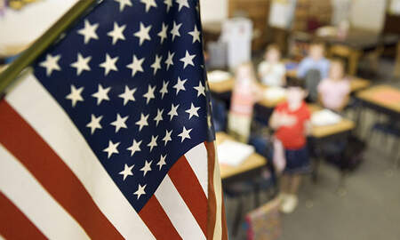 National News - 11-Year-Old Arrested At School For Refusing To Recite Pledge Of Allegiance