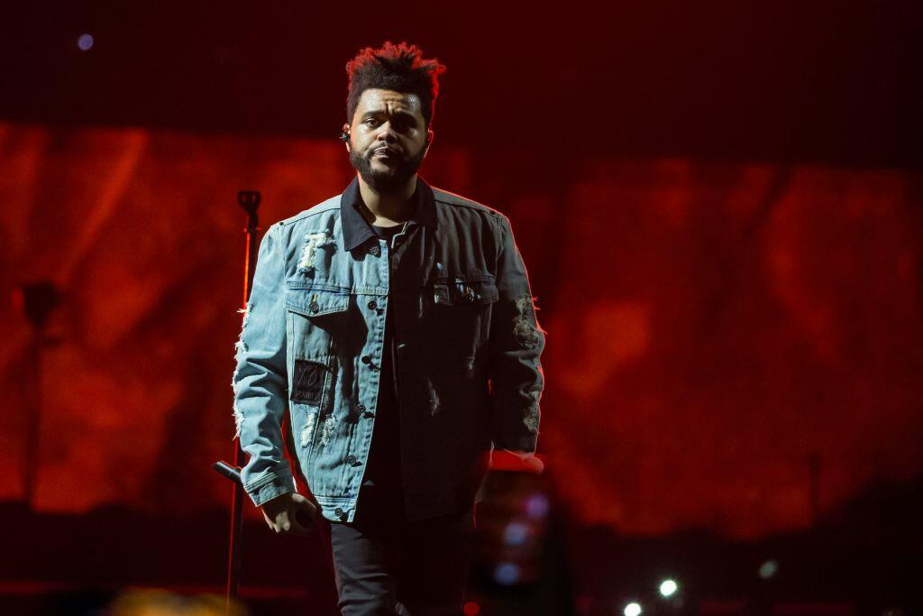 The Internet thinks The Weeknd looks like an older version of Saint West!