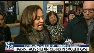 Justice & Drew - Kamala Harris freezes when asked about Jussie Smollett case