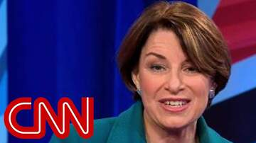 Justice & Drew -  This is the question Amy Klobuchar says she'd ask Trump