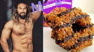 Houston's Morning News - MMMmm Good! Girl Scout Troop Makes (Jason) Mamoa Cookies