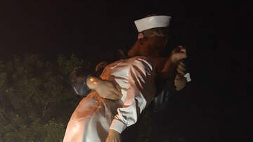 Tampa Local News - Sarasota' Unconditional Surrender  Statue Spray Painted