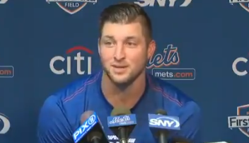 Michael Berry - Tim Tebow: they'll always be naysayers who didn't, wouldn't  or couldn't