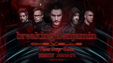 None - Breaking Benjamin Summer Tour 2019 Charlotte Raleigh