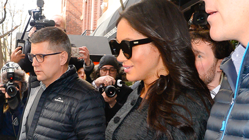 Trending - Meghan Markle Spotted Rocking All Black For Baby Shower In New York City