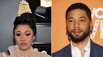 Music News - Cardi B Slams Jussie Smollett Over Claims He Staged Attack