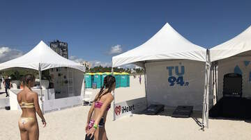 En TUs Calles - TU 94.9 at Model Beach Volleyball 2/17/19