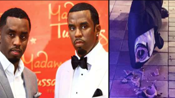Chuck Dizzle - Police Seeking Suspect Who Beheaded Diddy's Wax Statue