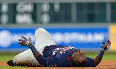 Twins - Twins' Miguel Sano cut foot in celebration, out for at least a week | KFAN