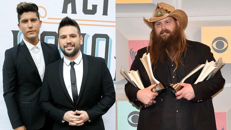 Dan + Shay, Chris Stapleton Lead ACM Award Nominations