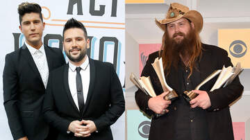 Music News - Dan + Shay, Chris Stapleton Lead ACM Award Nominations