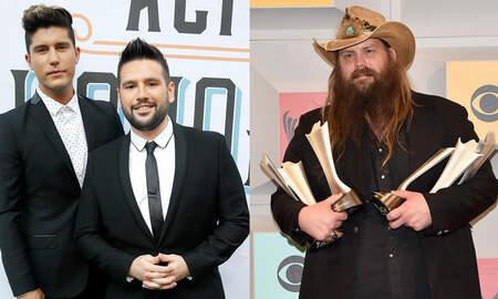 Music News - Dan + Shay, Chris Stapleton Lead ACM Award Nominations