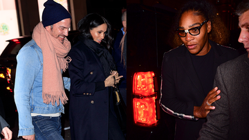 Music News - Meghan Markle And Serena Williams Had A Girls Night Out In NYC