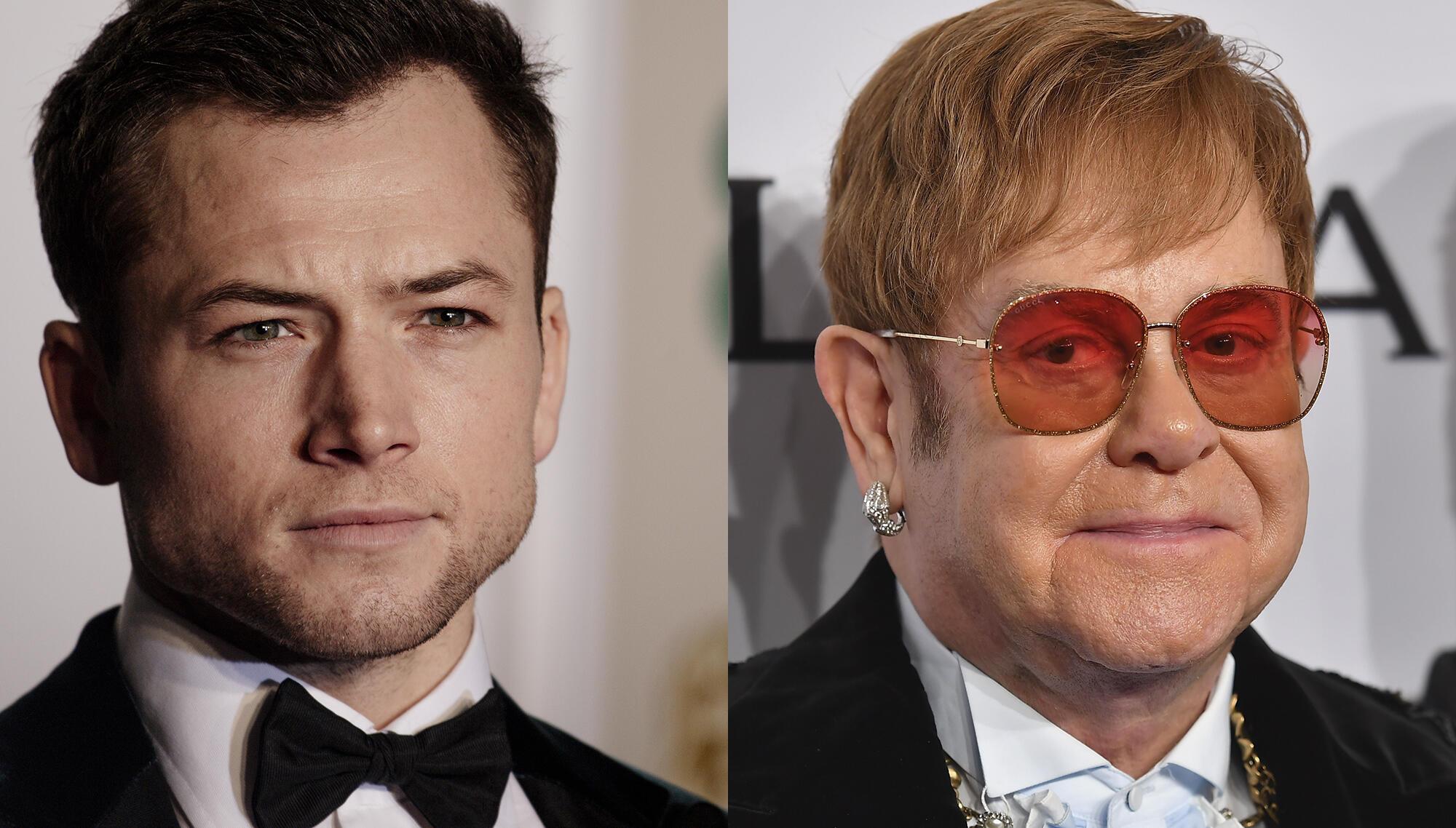 See Taron Egerton Become Elton John For 'Rocketman' Biopic