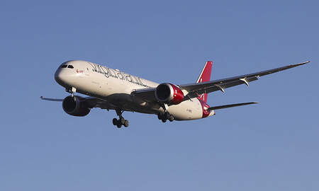 National News - Virgin Atlantic 787 Dreamliner Hits Speed Of 801 MPH