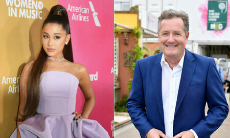 Trending - Ariana Grande Ended Her Piers Morgan Feud With Laughs, Tears & Drinks