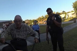 Florida Cops Buy Elderly Man A New Bike After Thieves Stole His Other One