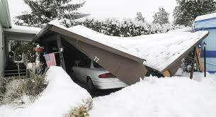 Mark Blazor - Car Ports Collapsing under the weight of the Snow!