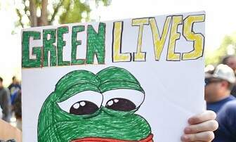 The Pursuit of Happiness - California State-Funded Employees Call Police On Pepe the Frog. No, Really.