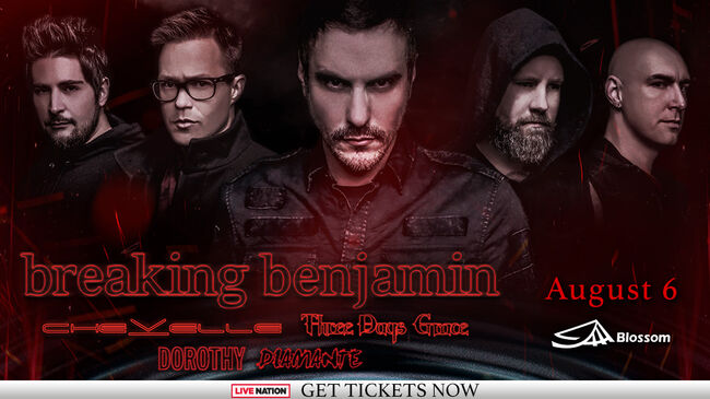 Breaking Benjamin CLE 2019 DL