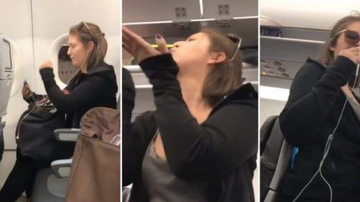 Chuck Dizzle - Drunk Woman Spazzes Out On Fellow JetBlue Passengers & Spits On 3 Year Old