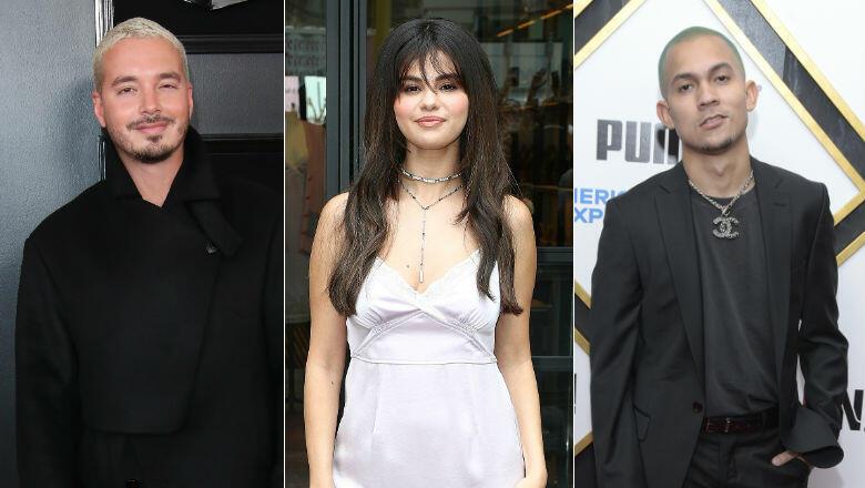 New J Balvin, Selena Gomez & Tainy Collab Set To Drop Next Thursday