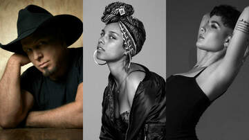 Entertainment News - Garth Brooks, Alicia Keys, Halsey to Be Honored at iHeartRadio Music Awards
