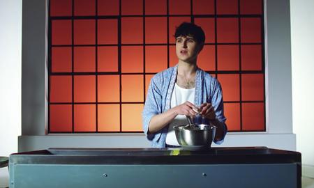 Trending - Ezra Koenig Makes Mandala-Shaped Pancakes In Harmony Hall Video: Watch