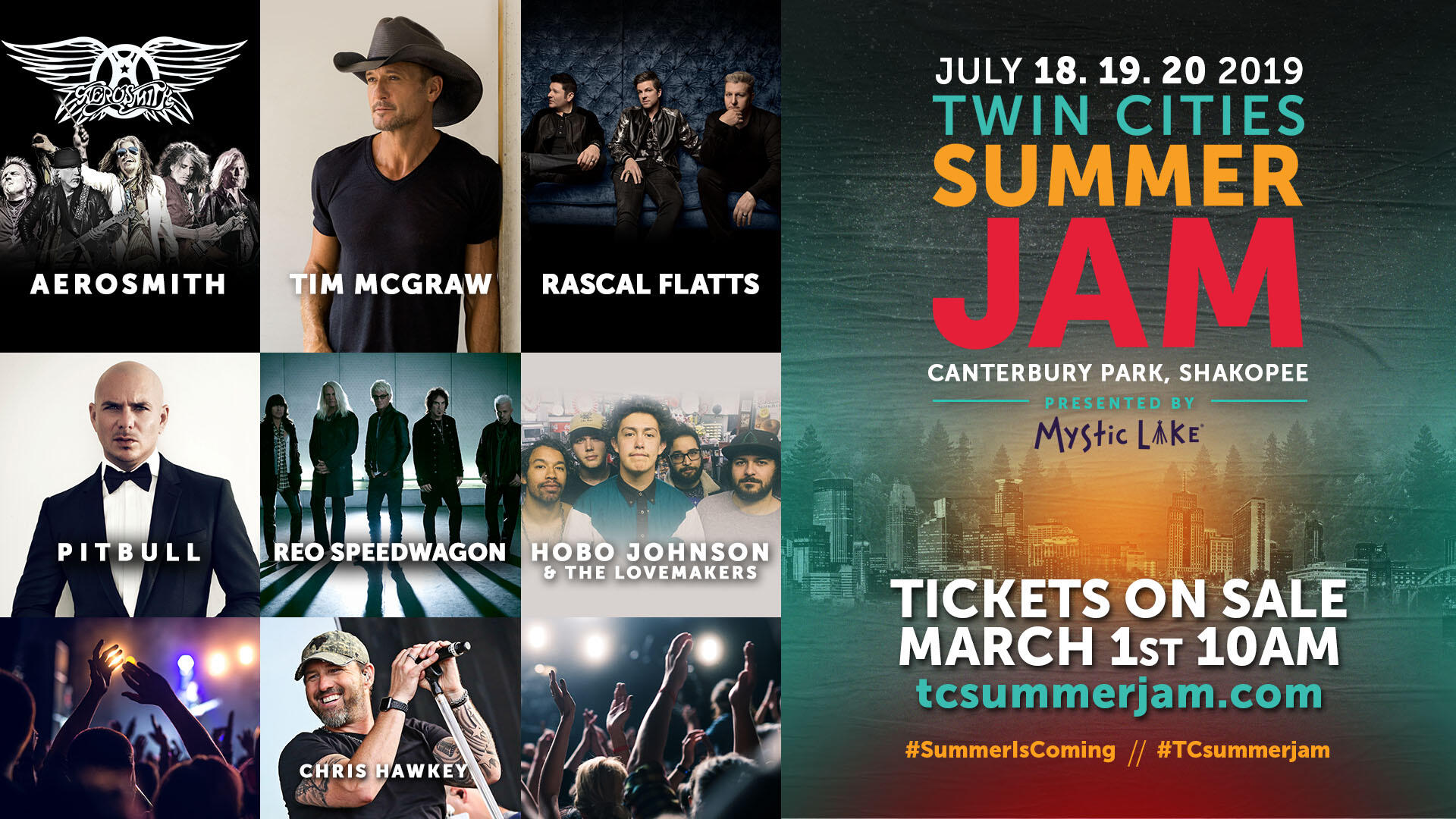 The TOP FIVE Reasons Why TC Summer Jam Is The Can't Miss Show Of The Summer