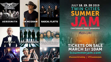 Twin Cities Summer Jam - Twin Cities Summer Jam 2019 Press Release