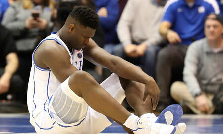 Mansour's Musings - Zion Williamson's SHOE EXPLODED last night injuring his knee [SLOWMO VIDEO]
