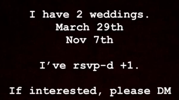 Bobby Bones - Bobby Opens His Instagram DMs For Plus One To Weddings