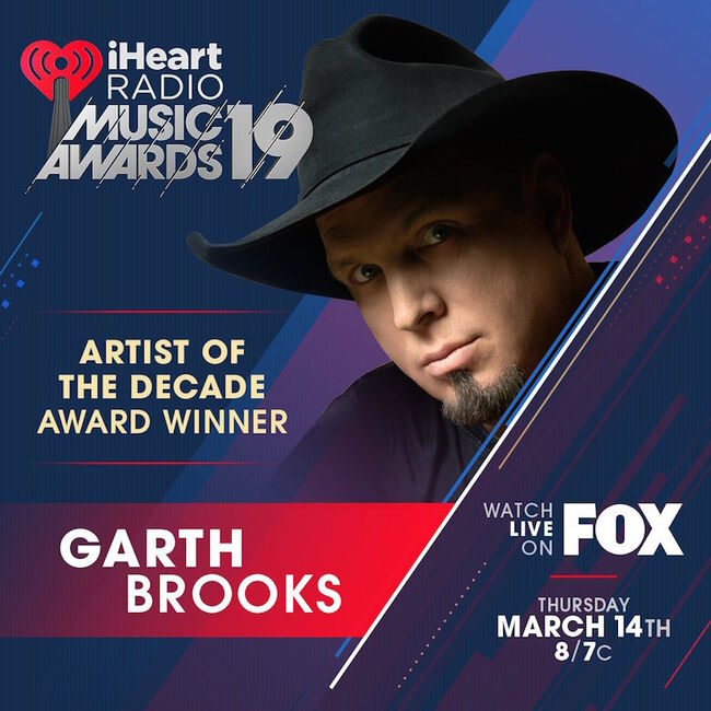 Garth Brooks 2019 iHeartRadio Music Awards