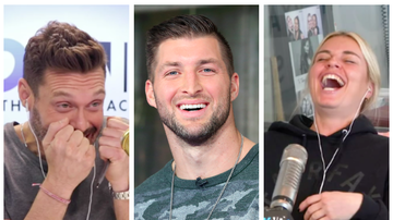 Ryan Seacrest - Ryan Plays Tanya's Breakup Song About Tim Tebow to Tim Tebow and OMG
