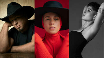 Trending - Garth Brooks, Alicia Keys, Halsey to Be Honored at iHeartRadio Music Awards