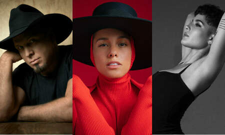 Music News - Garth Brooks, Alicia Keys, Halsey to Be Honored at iHeartRadio Music Awards