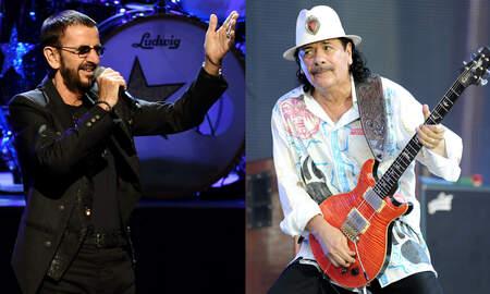 Rock News - Ringo Starr, Santana Confirmed For Woodstock Celebration At Original Site