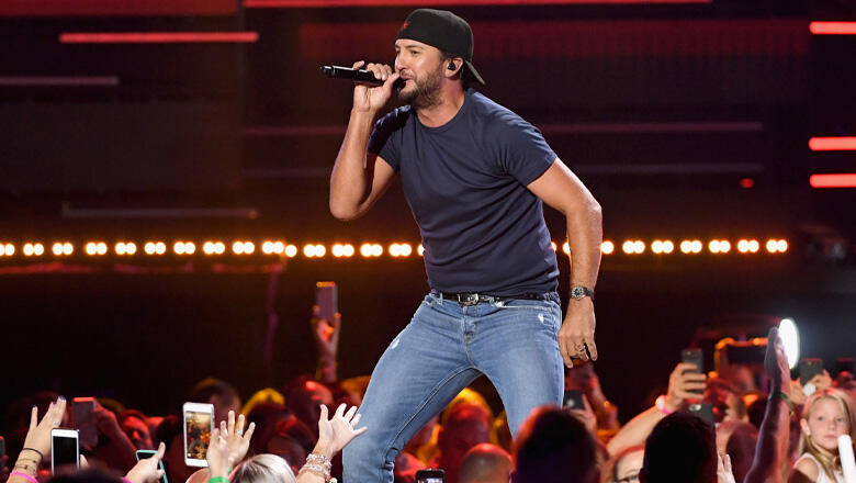 Luke Bryan Is Looking Forward To Even The 'Downsides Of Touring'