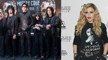 Christie James - Motley Crue Covers Madonna 'Like A Virgin' For 'The Dirt'